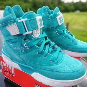 Ewings 33 Hi Turquoise Mens Basketball Shoes 11.5